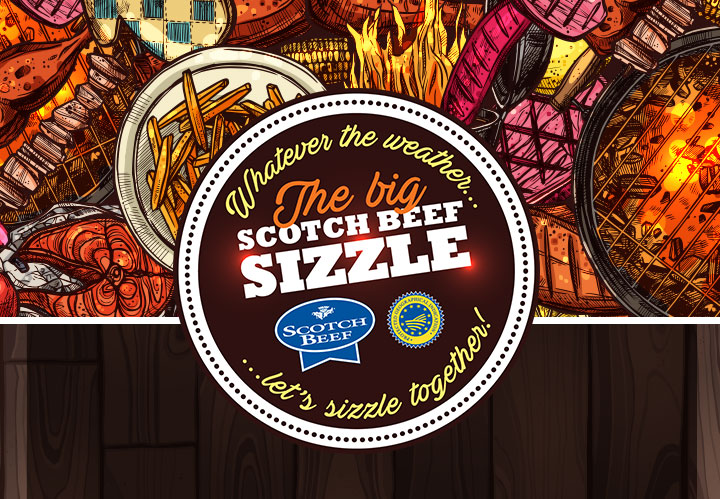 The big Scotch Beef Sizzle