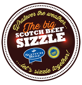The big Scotch Beef Sizzle logo